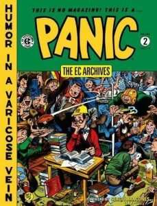 The EC Archives Panic Volume 1 Graphic Novel Book Dark Horse Archives Sealed